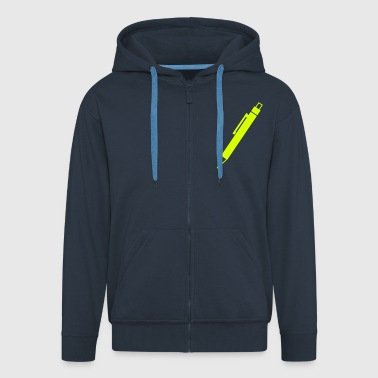 Pen - Men's Premium Hooded Jacket
