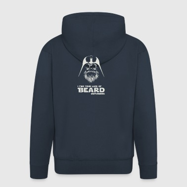 Paint of Beard - Men's Premium Hooded Jacket