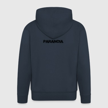 PARANOIA - Men's Premium Hooded Jacket