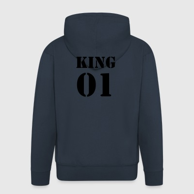 KING 01 - Men's Premium Hooded Jacket