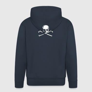 skulls and bones society - Men's Premium Hooded Jacket