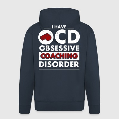 Trainer disorder funny sayings - Men's Premium Hooded Jacket