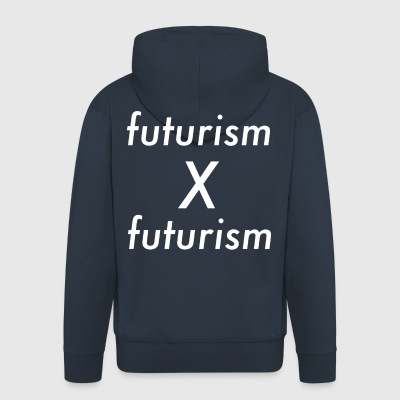 Futurism x futurism - Men's Premium Hooded Jacket