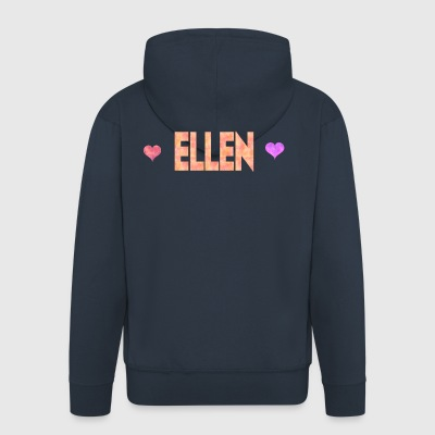 Ellen - Men's Premium Hooded Jacket