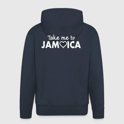 JAMAICA - Men's Premium Hooded Jacket