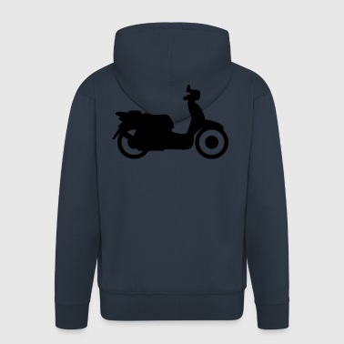 scooter - Men's Premium Hooded Jacket