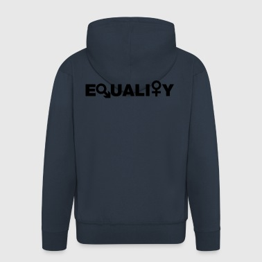 Equality - Men's Premium Hooded Jacket