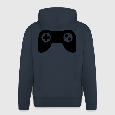 Game controller - Men's Premium Hooded Jacket