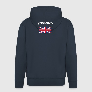 I love home homeland love roots ENGLAND - Men's Premium Hooded Jacket
