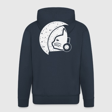Cat Stronaut - Men's Premium Hooded Jacket