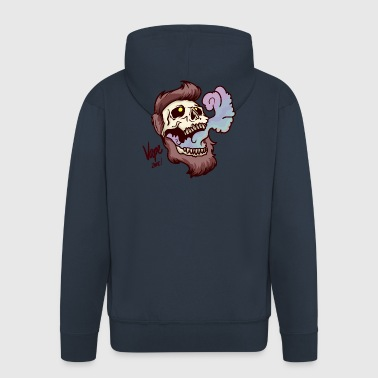 Vape skull - Men's Premium Hooded Jacket