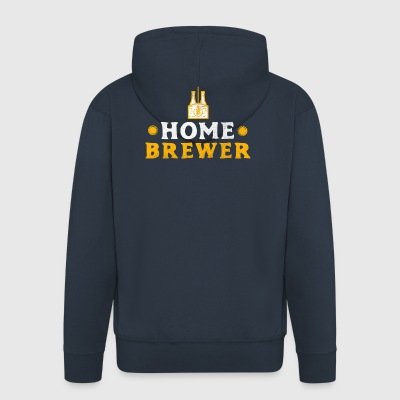 Home Brewer Craft Beer Craftbeer Beer Gift - Men's Premium Hooded Jacket