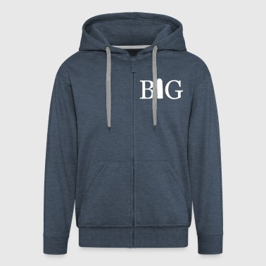 big - Men's Premium Hooded Jacket