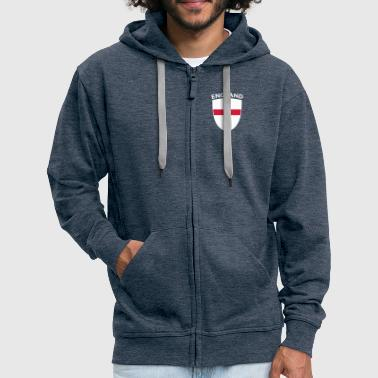 England ENGLAND SHIELD - Men's Premium Hooded Jacket