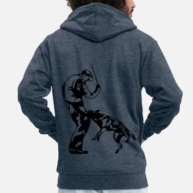 Sports biting - Men's Premium Zip Hoodie