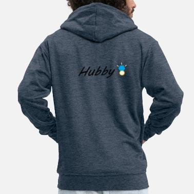 Hubby hubby - Men's Premium Hooded Jacket