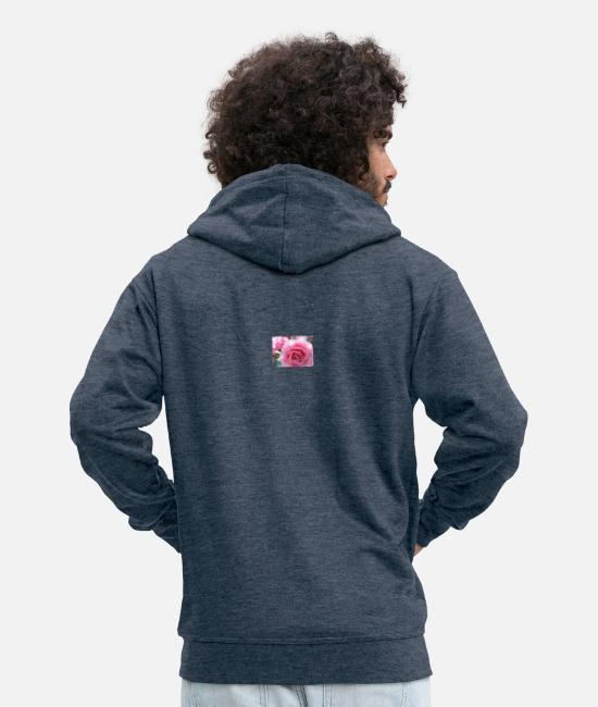 Love Hoodies & Sweatshirts - 35629286 10215377761053203 3268130152709619712 n - Men's Premium Zip Hoodie heather denim
