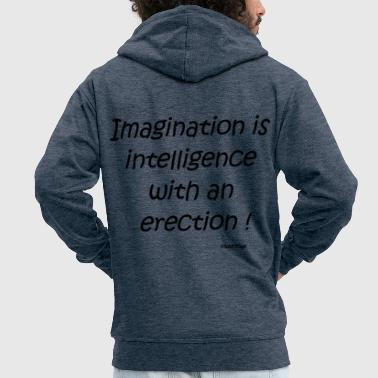 Cool quote - Men's Premium Hooded Jacket