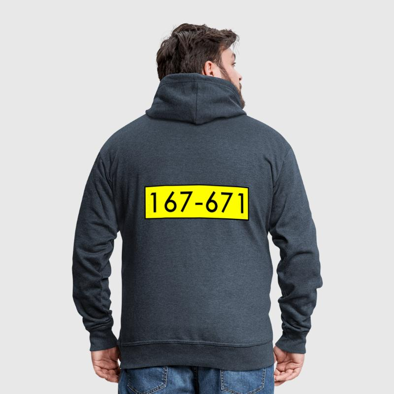 Beagle Boys Bigtime - Men's Premium Hooded Jacket