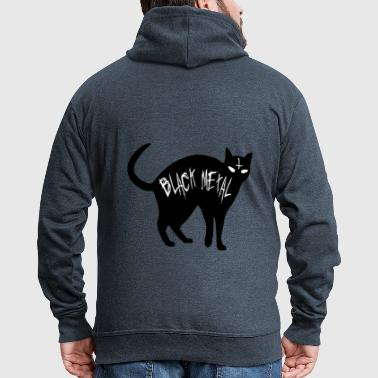 Cat Black Metal - Black Metal Cat - Premium-Luvjacka herr