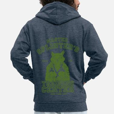 TMNT Master Splinter - Men's Premium Zip Hoodie