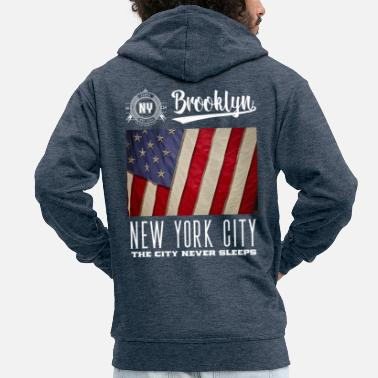 City New York City · Brooklyn - Veste à capuche premium Homme
