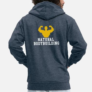 Bodybuilding Natural bodybuilding - Men's Premium Hooded Jacket