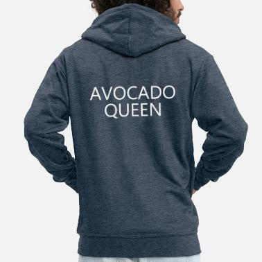 avocado queen - Men's Premium Hooded Jacket