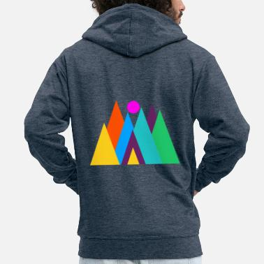 Whimsical Whimsical forest - Men's Premium Zip Hoodie
