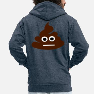 Poop poop - Men's Premium Hooded Jacket