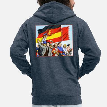 Parade DDR parade - Men's Premium Hooded Jacket