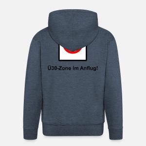 Mens Premium Zip Hoodie