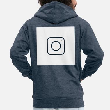 Instagram instagram - Men's Premium Hooded Jacket