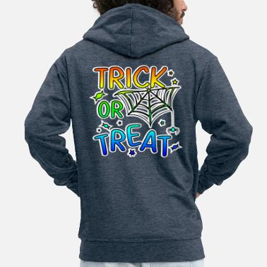 Trick Or Treat Trick or treat Halloween trick or treat - Mannenjack Premium met capuchon