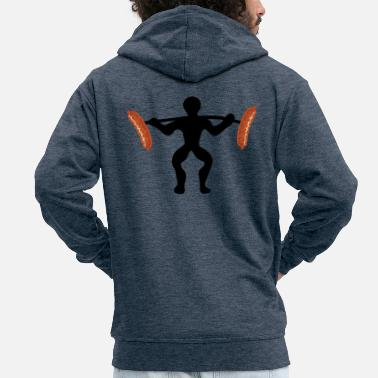 Funny Collection FUNNY COLLECTION - Men's Premium Zip Hoodie