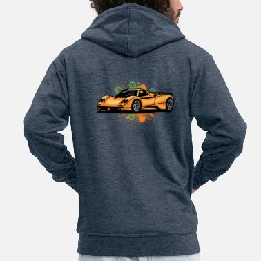Supercar Cool supercars - Men's Premium Hooded Jacket