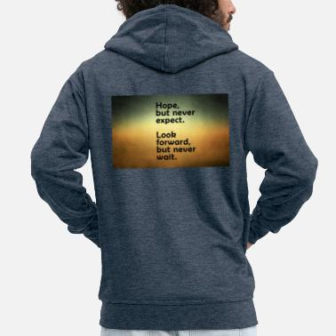 Wallpaper 68655307 thoughts wallpapers - Men's Premium Hooded Jacket
