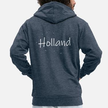 Holland Holland gift Netherlands - Men's Premium Zip Hoodie