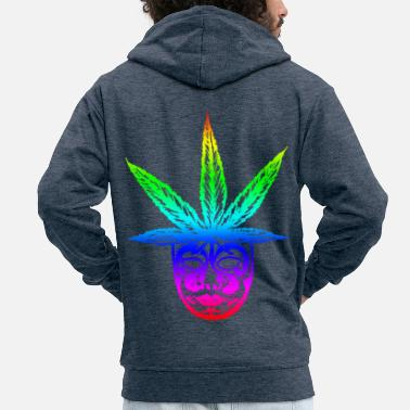 Cannabis cannabis - Men's Premium Zip Hoodie
