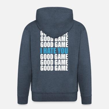 d92b12e2 Good Game - I Hate You Premium T-skjorte for menn | Spreadshirt