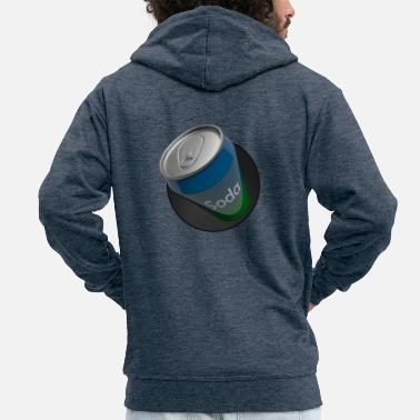 Sprite Sprite can - Men's Premium Hooded Jacket