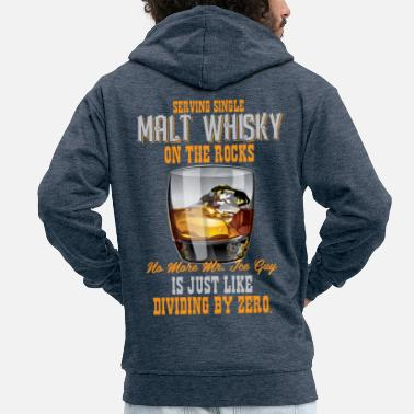 Whiskey Scotch Whisky Single Malt Whiskey Islay - Männer Premium Kapuzenjacke