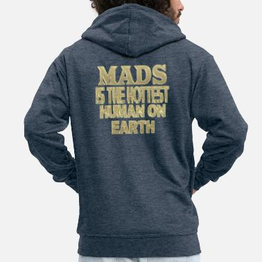 Madness Mads - Men's Premium Hooded Jacket