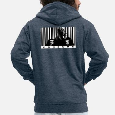 Consumer Consumer wrongs - Men's Premium Zip Hoodie