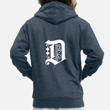 Detroit Detroit Tee Shirt Graphic - Men's Premium Zip Hoodie