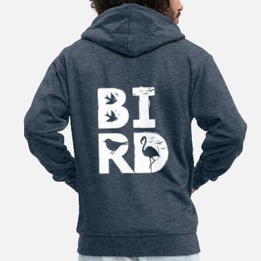 Bird BIRD / bird - Men's Premium Hooded Jacket