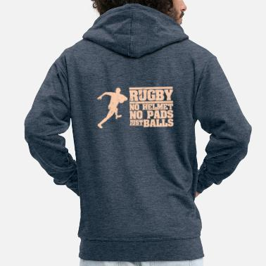 Rugby rugby - Chaqueta con capucha premium hombre