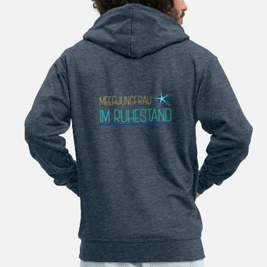Mermaid Mermaid mermaid - Men's Premium Zip Hoodie