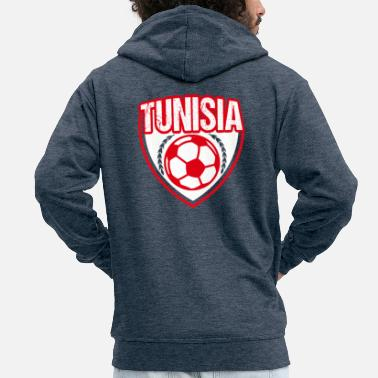 Tunisia Tunisia - Men's Premium Hooded Jacket
