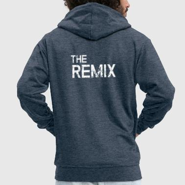 The Original / The Remix - Father Son Partnerhirt - Men's Premium Hooded Jacket